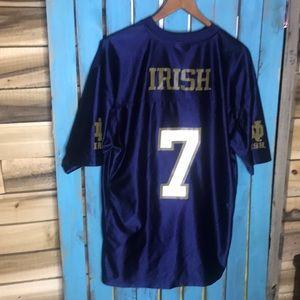 Notre Dame football jersey number 7 Theismann L